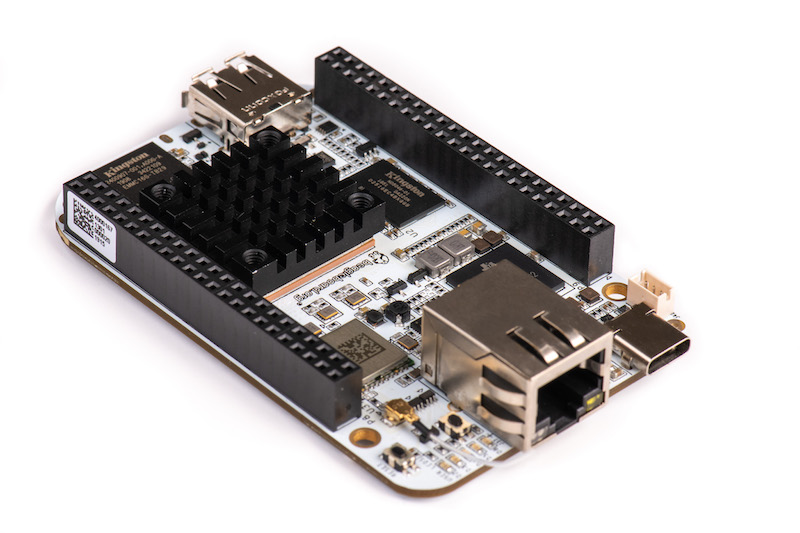 BeagleBone® AI is your fast track to embedded artificial intelligence at the edge. The fastest and most flexible BeagleBone yet builds on a decade of success in open hardware single board Linux computers built to educate and help you automate your home, office, lab or manufacturing floor.