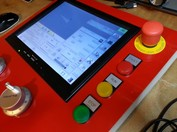 Emco Turn 120P Machinekit control panel image